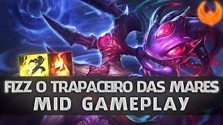 League of Legends - FIZZ MID GAMEPLAY - TIER DEUS [PT-BR]