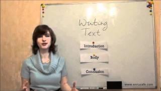 Письмо (ВНО, английский): Структура текста, видео урок