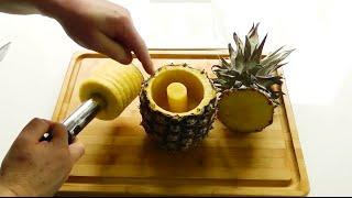 3 in 1 Stainless-Steel Pineapple Corer Slicer Peeler