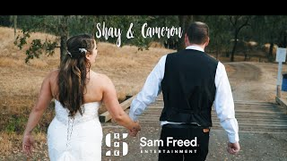 Wedding of Cameron and Shay | SAM FREED ENTERTAINMENT