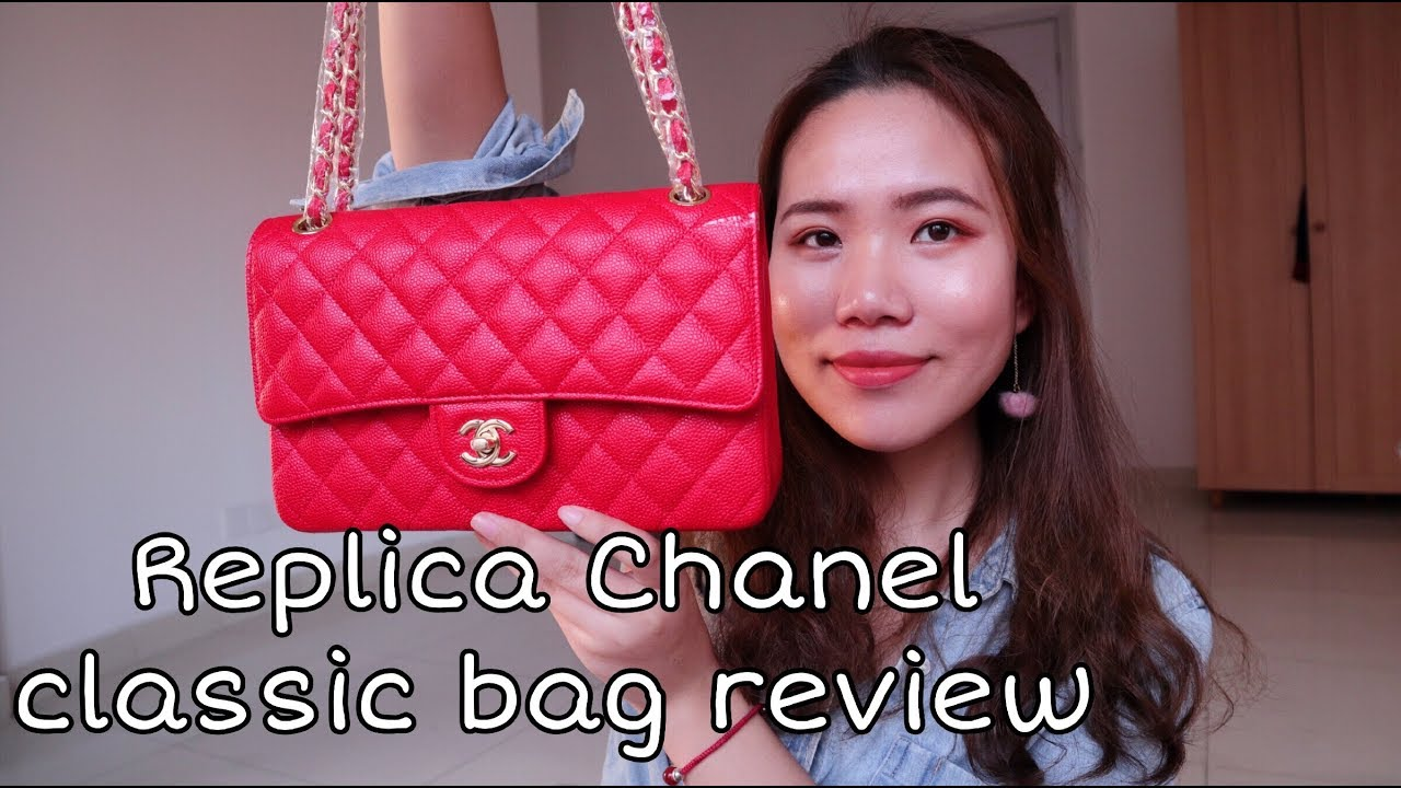918c4f33c513 AMAZING CHANEL CLASSIC FLAP BAG REVIEW (replica)|Sunny review - YouTube