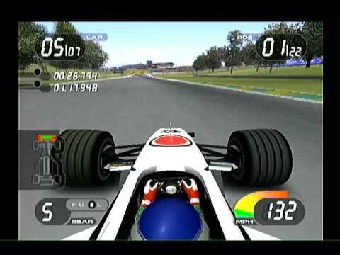 Formula One 2001 (PlayStation 2) Brazillian GP - BAR Honda