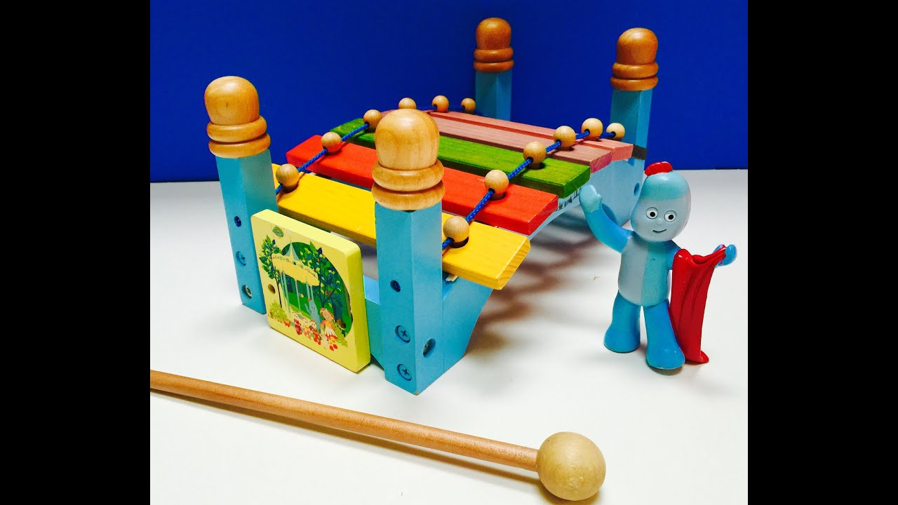 High Quality Musical Wooden Xylophone Bridge In The Night Garden Toy   YouTube