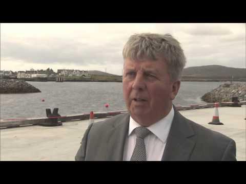 Opening of Lochboisdale Port of Entry September 2015