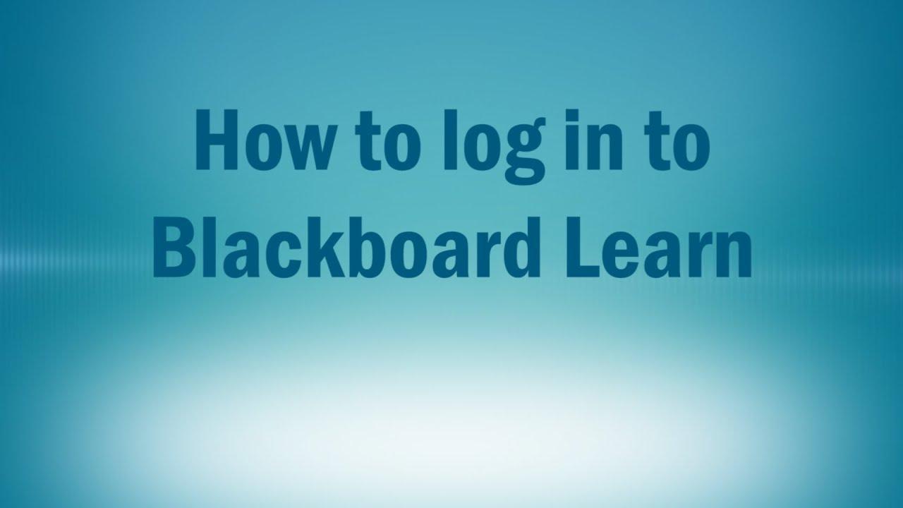 blackboard tri c login