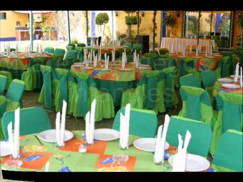 Jardin para fiestas araucana youtube for Jardines para eventos