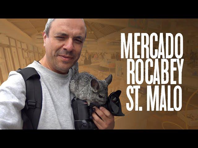 El mercado Rocabey de Saint Malo / Bretaña, Francia / Blog de viajes