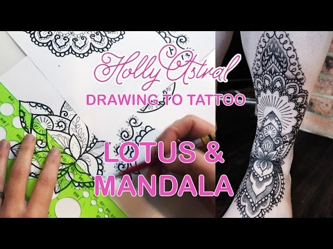 DRAWING TO TATTOO: Lotus & Mandala