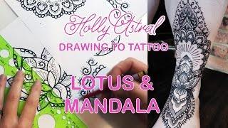 DRAWING TO TATTOO: Lotus & Mandala