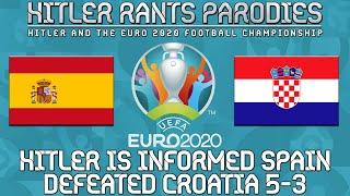 Hitler is informed Spain defeated Croatia 5-3