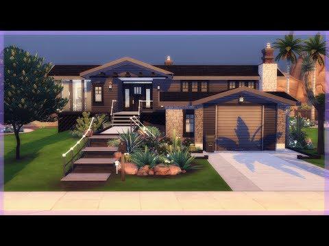Arizona Avenue 🌞🌿 The Sims 4 Speed Build