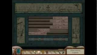 Nancy Drew: Tomb of the Lost Queen Part 3: Hieroglyph Slide Puzzle