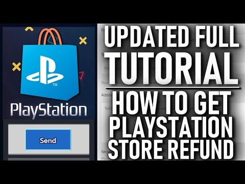 Updated Full Tutorial How To Get a Refund From PlayStation Store Digital Orders!