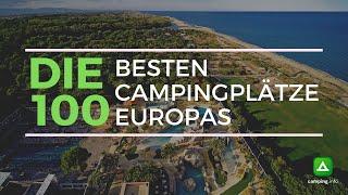 Die 100 besten Campingplätze Europas