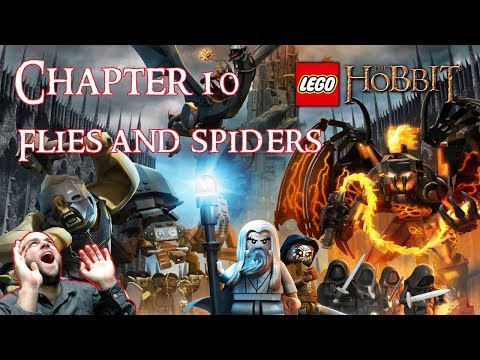 Lego The Hobbit Chapter 10: Flies And Spiders - Full Episode Gameplay Playthrough