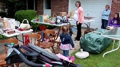 Garage sale pricing guide - join me as I take you along to show you my pricing