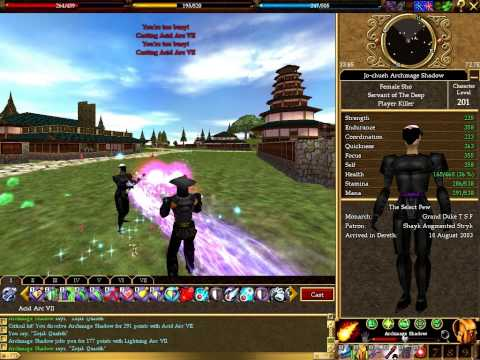 Burning – Asheron's Call Darktide PvP