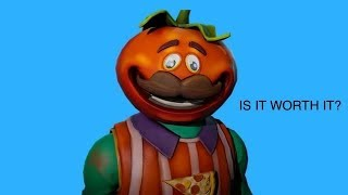 IS IT WORTH IT TO BUY THE NEW TOMATO HEAD SKIN?! Fortnite Battle Royale