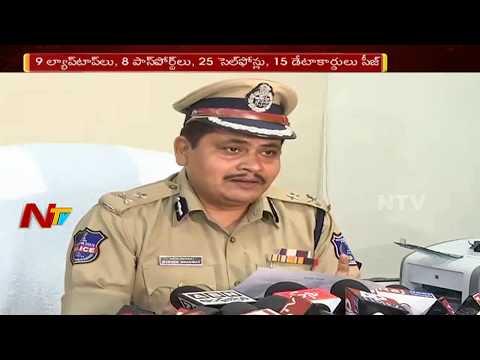 Nigerian Based Online Cheaters Gang Arrested    Rachakonda, Hyderabad    NTV