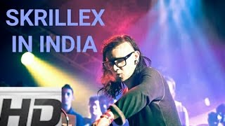 SKRILLEX IN INDIA @ HUNGERBEATS