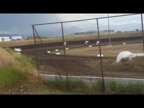July 9, 2016 Gallatin Speedway Heat Race