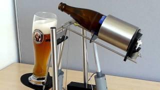 Hefeweizen Einschenkvorrichtung, beer pouring gadget