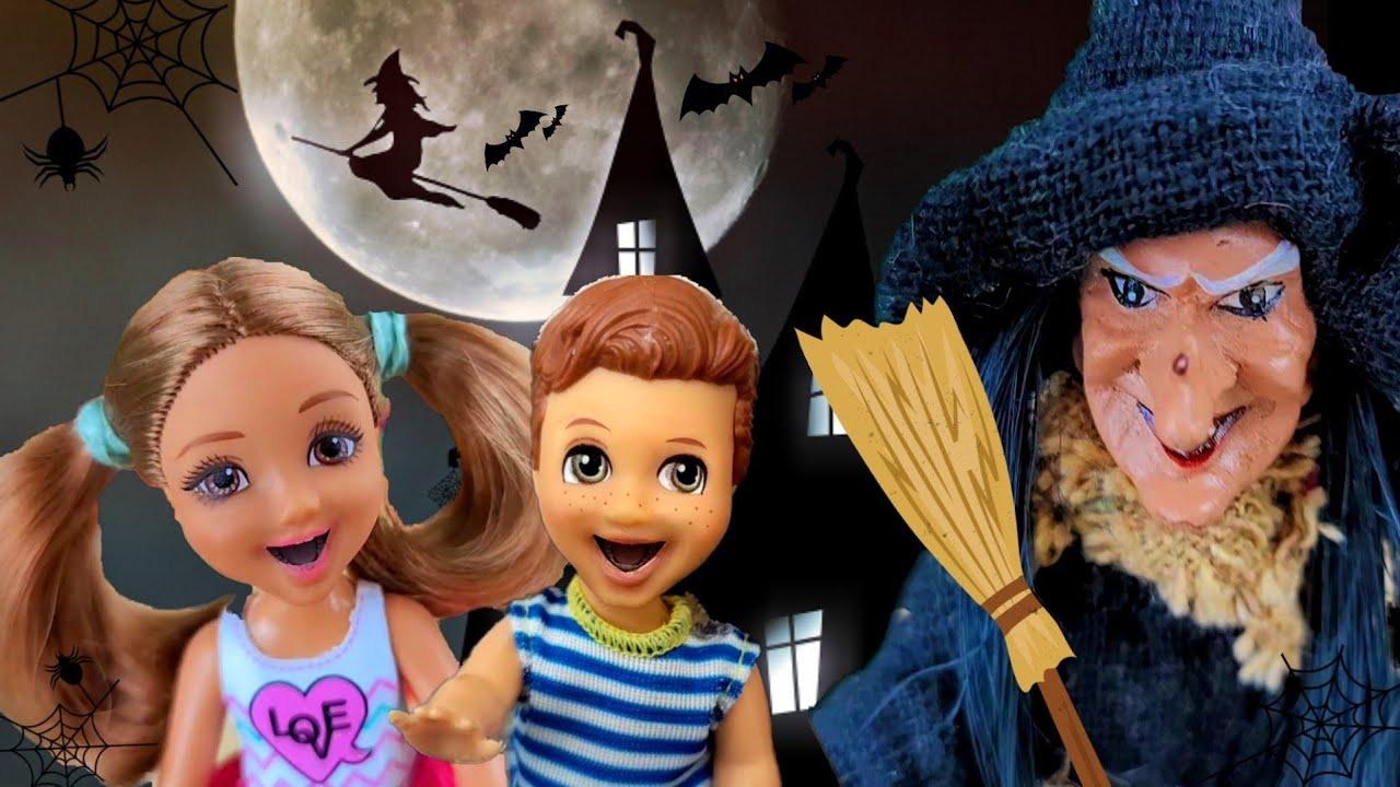 마녀 바비인형 Barbie Sad Story / Hansel and Gretel / Barbie Family Morning Routine / Barbie video