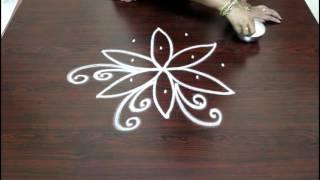 basic rangoli designs with 5 to 3 interlaced dots-muggulu- chukkala muggulu-rangoli-easy rangoli