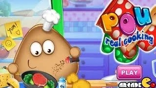 Pou Real Cooking - Pou Cooking Game for Kids