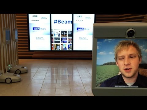 Suitable Technologies Beam Pro Smart Remote Physical Presence System - Westfield San Francisco