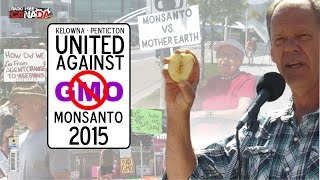 March Against Monsanto Kelowna - Ron Pinkny and Allan Patton
