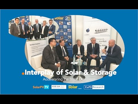 SolarPV.TV presents: Interplay of Solar & Storage – Accelerating the Solar Disruption