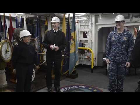 USS Ronald Reagan Earns Meritorious Unit Commendation