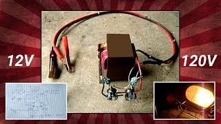 Hoe Maak je Een Magnetron Transformator(MOT) 12V naar 120V Omvormer