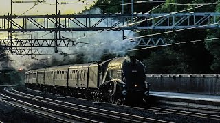 Steam Locomotives At Speed #3