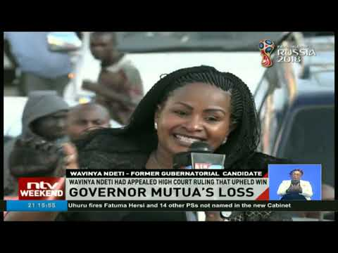 Court of Appeal invalidates Machakos Governors' election