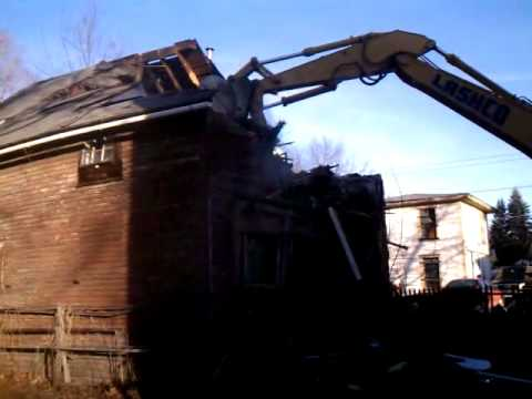 LashCo House Demolition Greenfield, MA