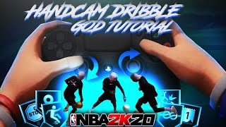 *NEW* ADVANCED DRIBBLE GOD TUTORIAL W/ HANDCAM ON NBA 2K20 | MOST OVERPOWERED COMBOS ON NBA 2K20