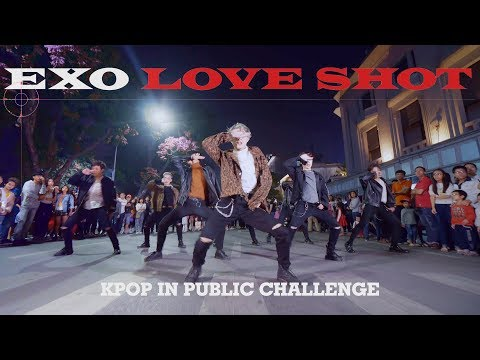 """[KPOP IN PUBLIC CHALLENGE] EXO 엑소 - """"Love Shot"""" (러브샷) Dance Cover By C.A.C from Vietnam"""