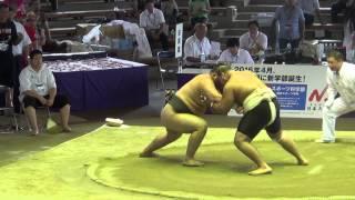 Чемпионат мира по Сумо 2015 г.Осака,Япония. (EGY vs MNG)
