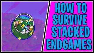How to Survive Competitive Late Game Circles - Fortnite Battle Royale