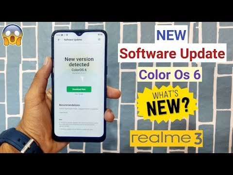 New Software Update Received (ColorOs 6) In RealMe 3, New Features Added