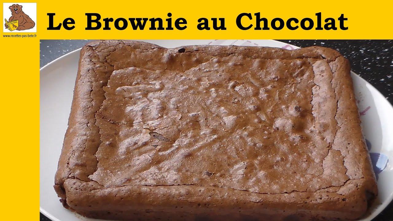 Le brownie au chocolat recette rapide et facile hd doovi - Recette equilibree rapide ...