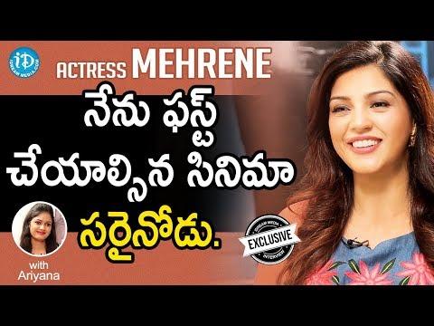 Jawaan Actress Mehreen Exclusive Interview || Talking Movies With iDream #569