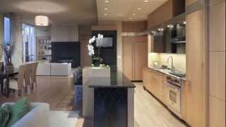 Contemporary Loft Lifestyle Kitchen In Minneapolis Features Custom Designed Black Cabinetry Surfaces