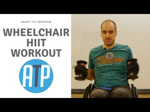 20 MIN FAT BURN HIIT WORKOUT FOR WHEELCHAIR USERS | ADAPT TO PERFORM