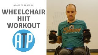 20 MIN FAT BURN HIIT WORKOUT FOR WHEELCHAIR USERS   ADAPT TO PERFORM