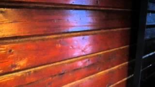 видео покраска бани внутри