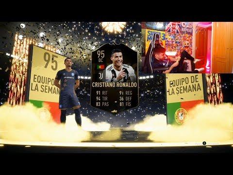 ME SALE CRISTIANO RONALDO IN A PACK !!!!!!!!!!!!! FIFA 19 - DjMaRiiO