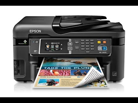 Epson WF-3620 - How to clean printer - Not Printing Black